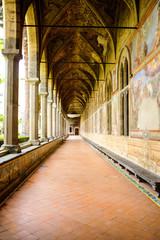 NAPOLI - Chiostro di Santa Chiara