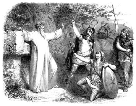 Gaul : Druid & Warriors