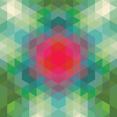 retro geometric pattern. vector optic effect texture