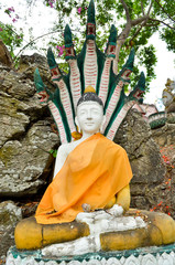 image portrait of Buddha (Nak prok series)