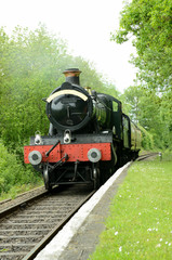 british steam train