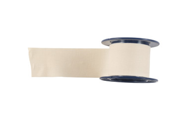 Adhesive bandage sticking plaster isolated
