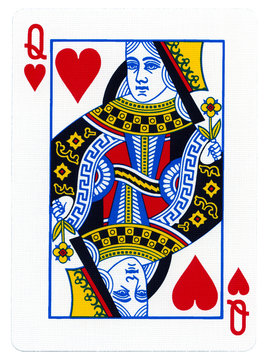 Playing Card - Queen of Hearts