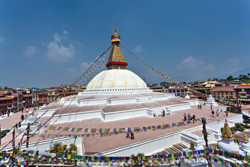 bodhnath temple in nepal