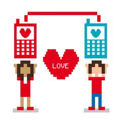 love pixel design