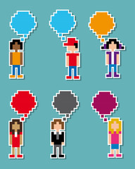 comunication pixel design