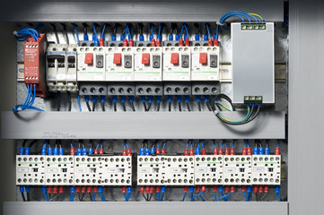 Machine electrical panel