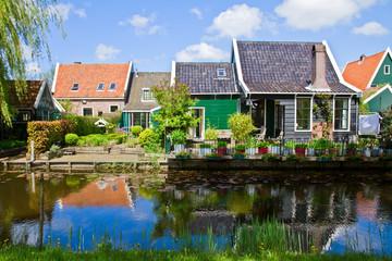 old  town of Zaandijk, Netherlands