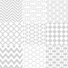 seamless white retro pattern