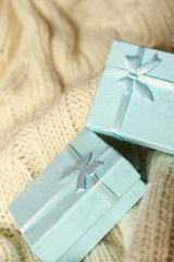 Two gift boxes