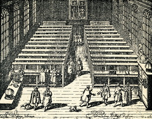 Library of Leiden University (1610)