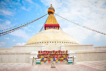 Boudhanath Stupa or Bodnath Stupa is the largest stupa in Nepal