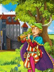 The prince- castles - knights and fairies