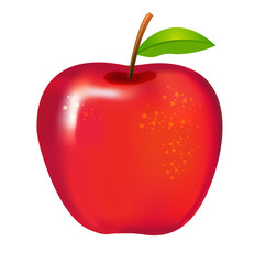 apple red