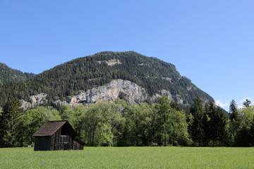 Wall Mural - Berghütte