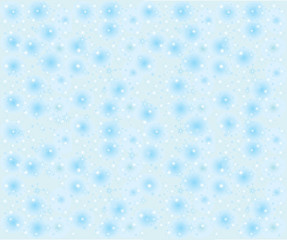 Seamless snowflakes background with stars
