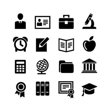 Set 16 education icons