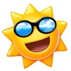 sole occhiali reflex