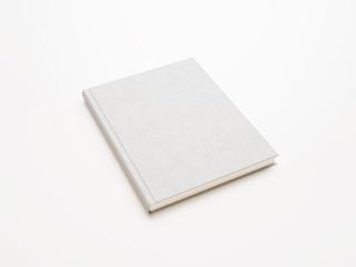 blank white book