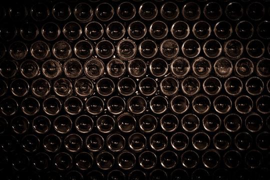Wine Bottles Background
