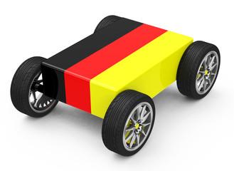 Fototapete - Die deutsche Autoindustrie
