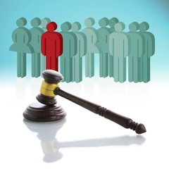 The concept about people and the law