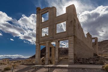 Rhyolite Ghost Town in  Death Valley
