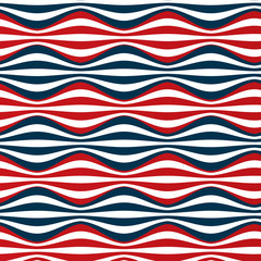 seamless red blue stripes
