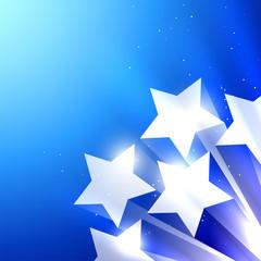 shiny star background