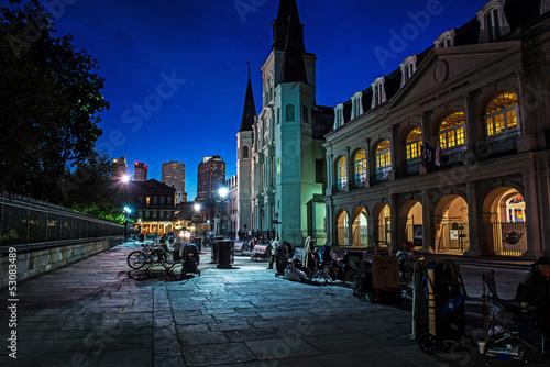 Fototapete Charming New Orleans