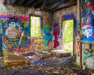 Abandoned Graffit