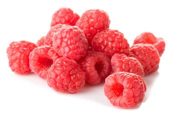 fresh sweet raspberries