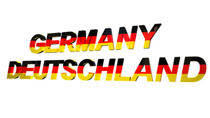 3d text germany