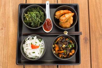Traditional asian dish