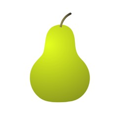 Big green pear