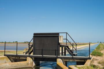 Irrigation gate