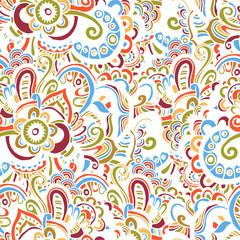 Motley oriental background