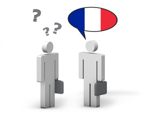 Business French Language Concept