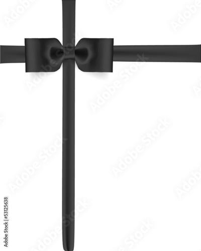 schwarze schleife stockfotos und lizenzfreie vektoren auf bild 53125638. Black Bedroom Furniture Sets. Home Design Ideas