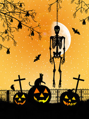 Skeleton of Halloween
