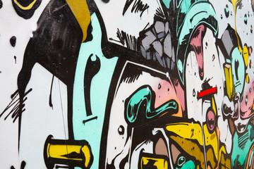 Graffiti on Wall in Copenhagen