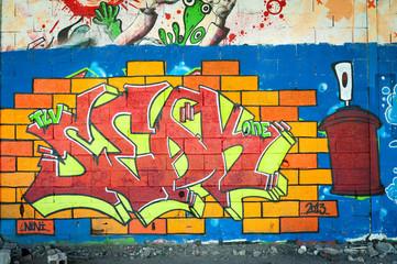 Graffiti lettrage
