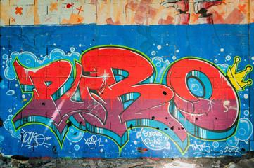 Graffitti couleurs