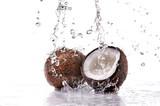 Mit das Kokosgeschmack