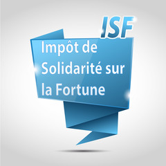 bulle origami cs5 : impôt de solidarité sur la fortune