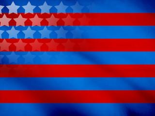 Graphic Design (Vintage Background) - Made In USA - Flag Element