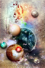 science fiction background