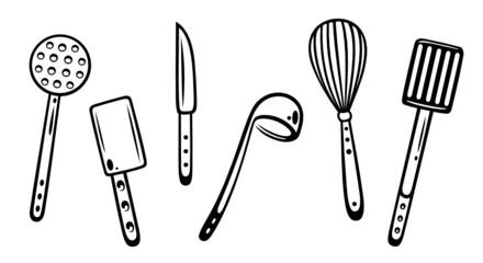 Küche, kochen, Küchenutensilien