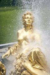 Golden Woman Fountain