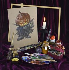 Halloween in colors 1